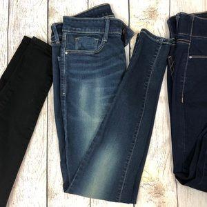Apt. 9 Jeans - 3 Pairs Apt 9 Size 4L Tummy Control Skinny Jeans